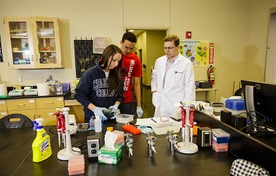 columbia college science students
