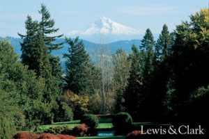 mountain view at lewis and clark college