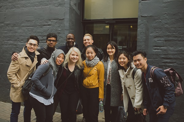 Oxford Brookes Asian students