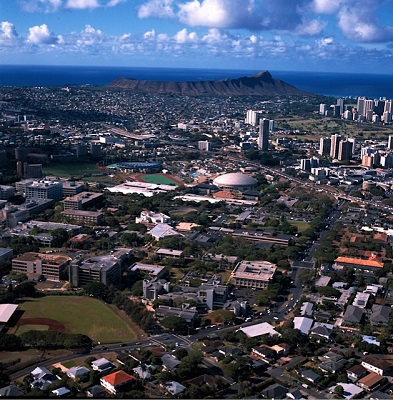 UH Manoa campus
