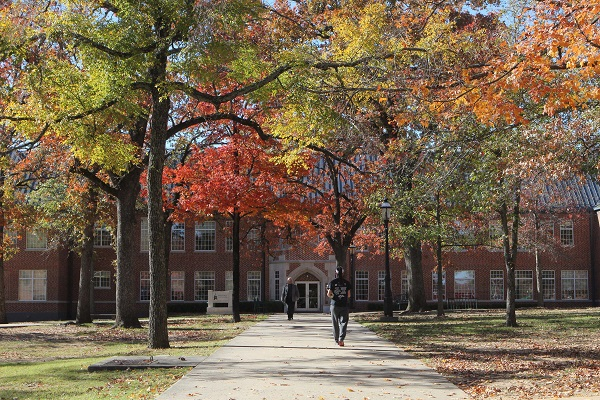 Northeastern State University in fall