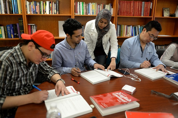 Sacred Heart University English Language Institute students