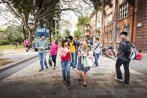 qut business school students