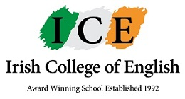 Irish College of English logo