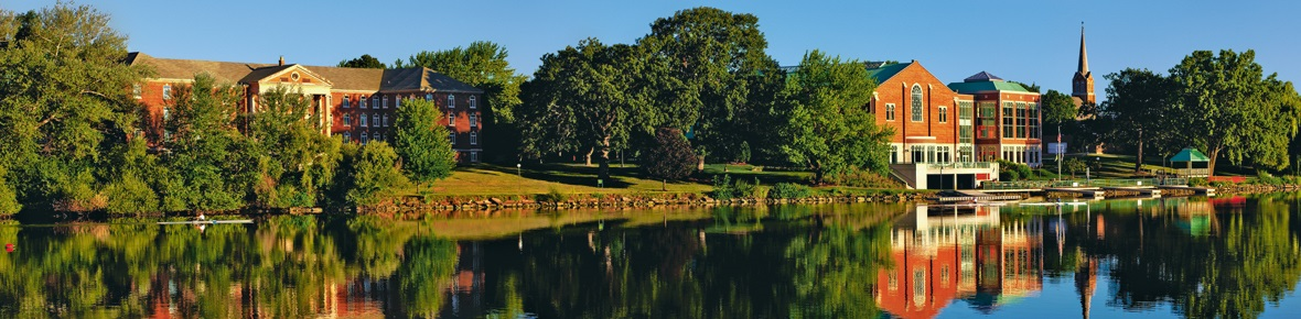 st norbert college river view