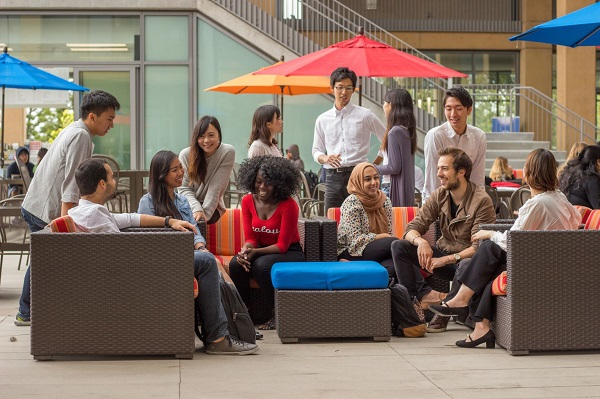 University of California, Irvine international students